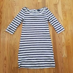 Banana Republic | Striped Button Dress
